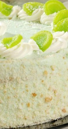 Key Lime Cake with Cream Cheese Frosting Recipe