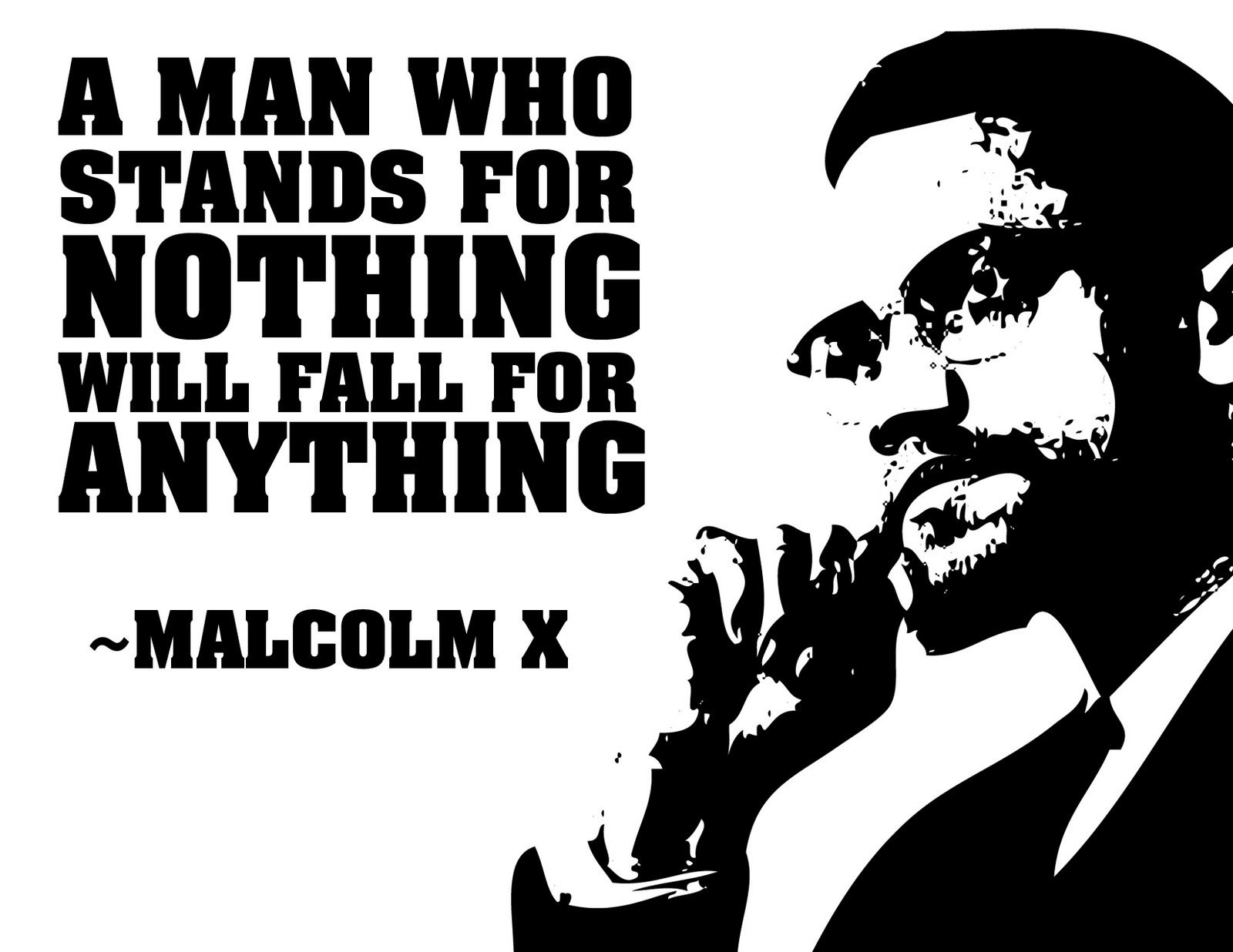 Free Qoute Free African American Quotes With Pictures  Quote Malcolm X