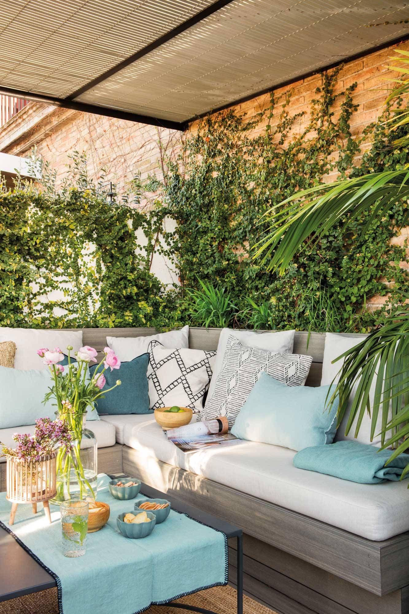 Aprovecha Las Esquinas En 2020 Diseno De Terraza Muebles De Exterior Decoracion De Patio Exterior