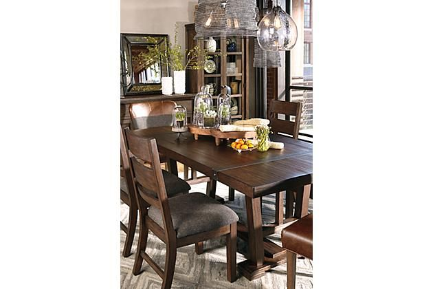 Room Medium Brown Zenfield Dining