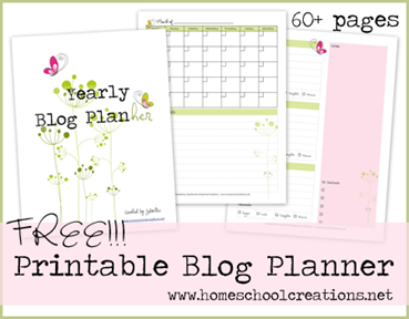 @Katie Schmeltzer yonke?  Free printable blog planner to help you organize your online life!