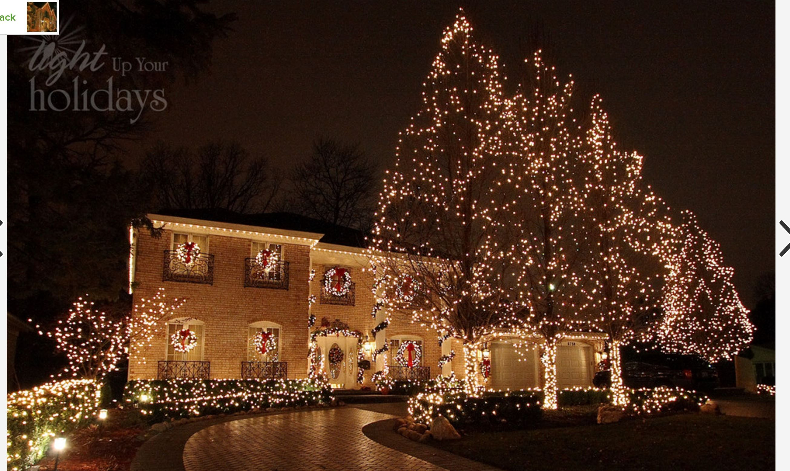 outdoor christmas decoration lighting ideas with christmas tree lighting decoration in garden