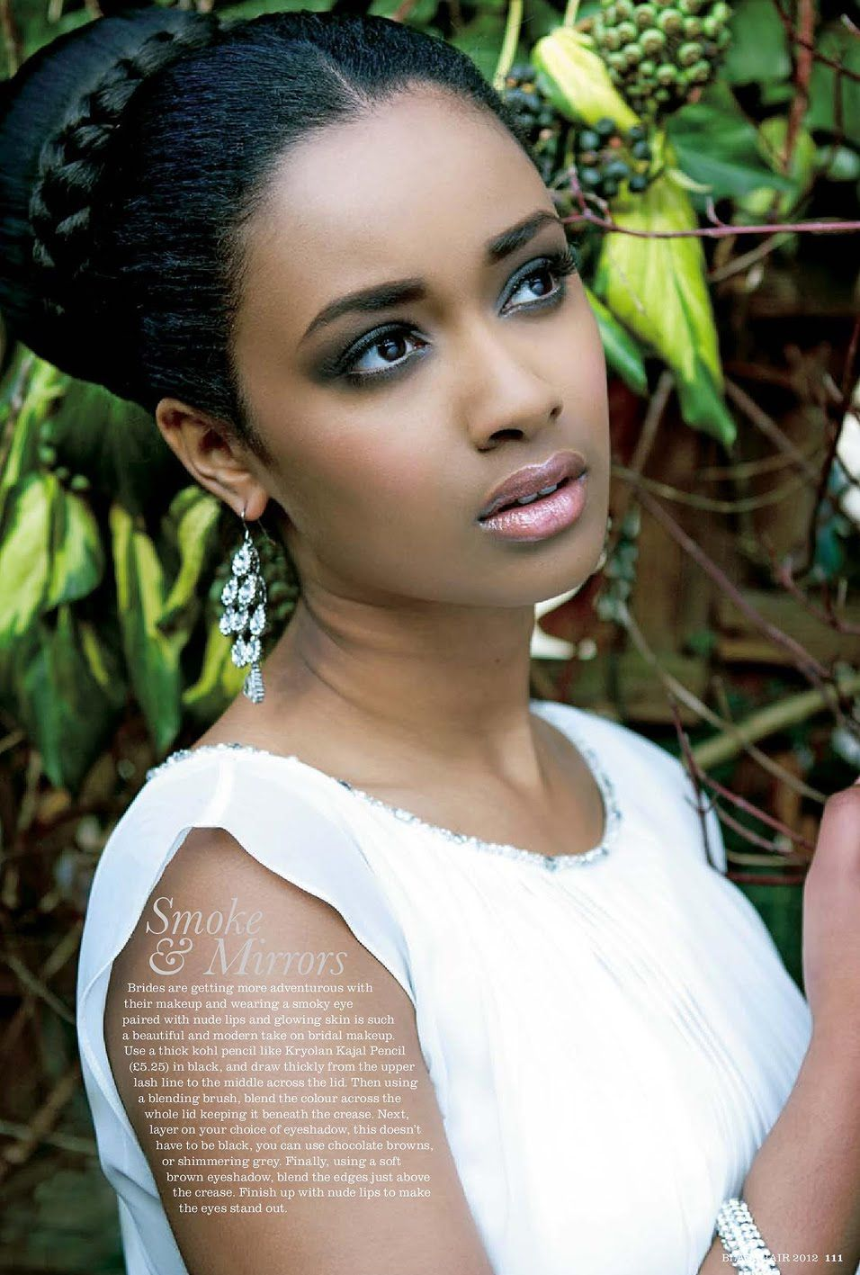 African American. Black Bride. Wedding Hair. Natural Hairstyles. Petra for Black Hair Magazine ...