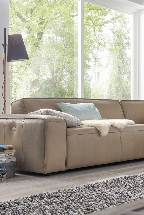Gut Kultcouchen Für Trendsitzer   Mit Natura Denver Von Spitzhüttl Home  Company. #sofa #wohnen #möbel #wohnzimmer #couch #chillen #einrichtung |  Natürliches ...