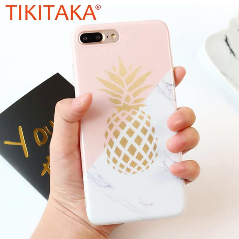Pineapple Phone Cases For iphone 6 Fitted Cases Marble
