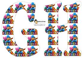 Oh my Alfabetos!: Alfabeto de Pocoyó.