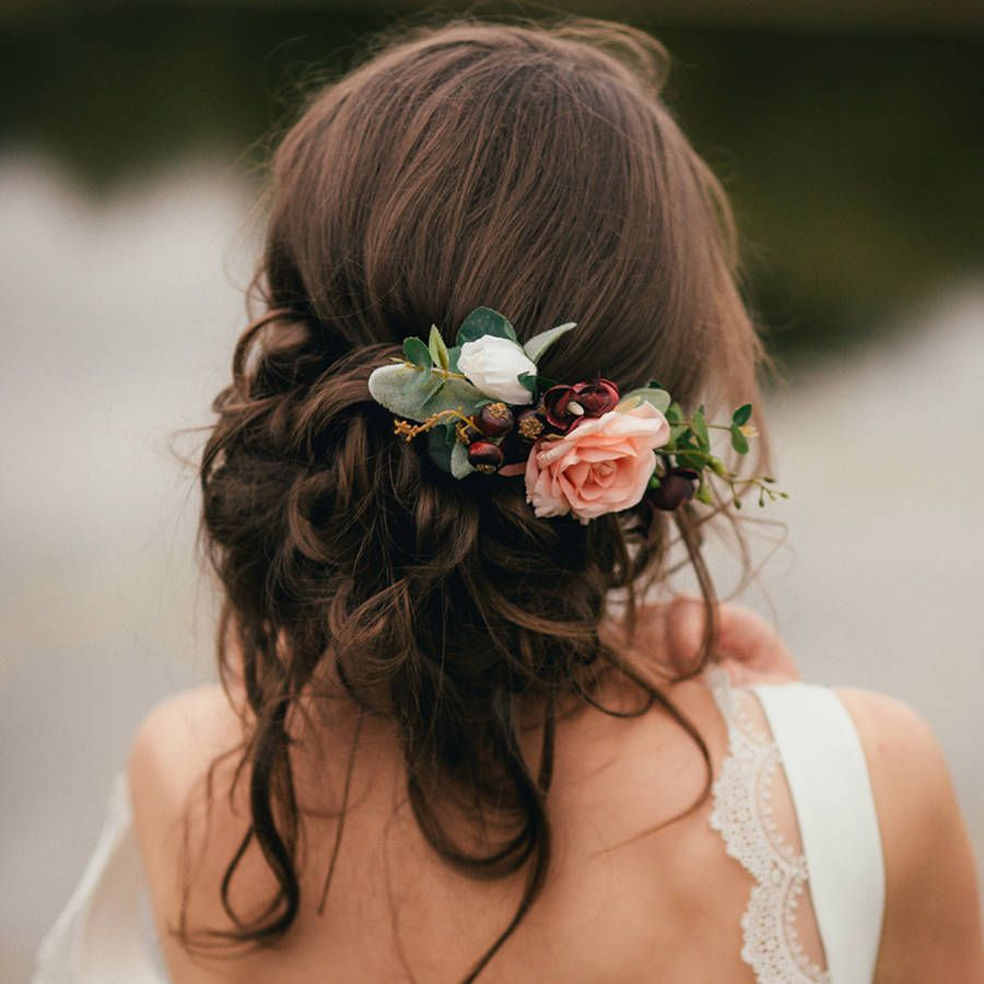 are you interested in our bridal flower hair comb? with our