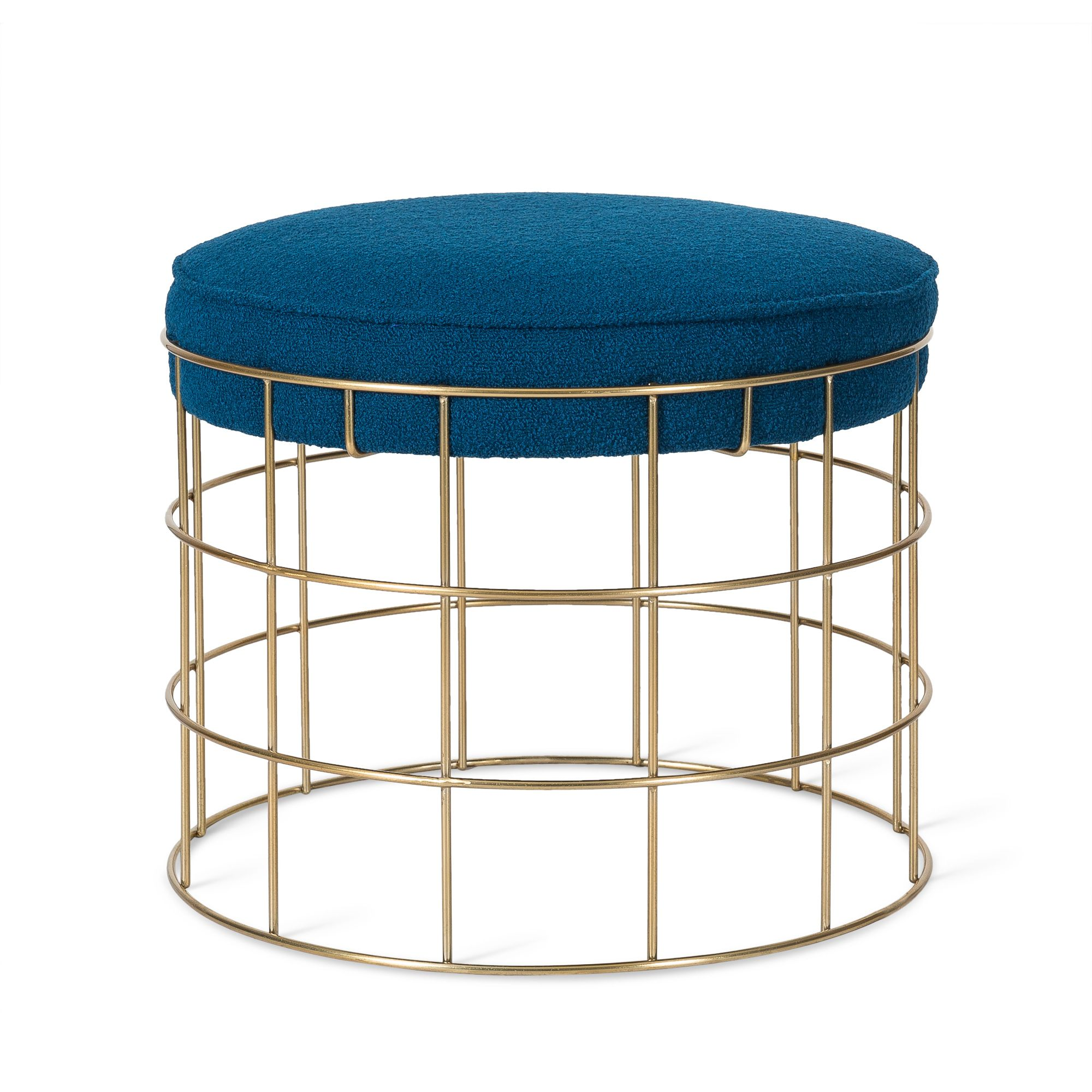 From Midnight To Duck Egg See: Gold Stool, Stool, Duck Egg Blue