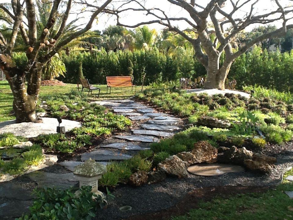 Charmant Back Yard With Stone Walkway   Olimar Stone, Decorative Stone, Beach Pebbles,  Garden