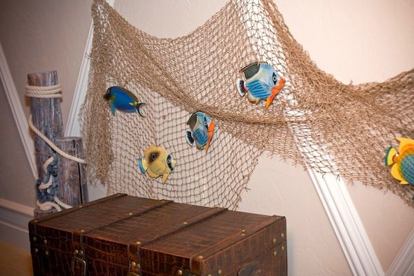 Designing A Tablescape Beach Theme With Fishing Net Boys Beach
