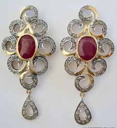 Victorian Earrings India | British Colonial Influence in 2019