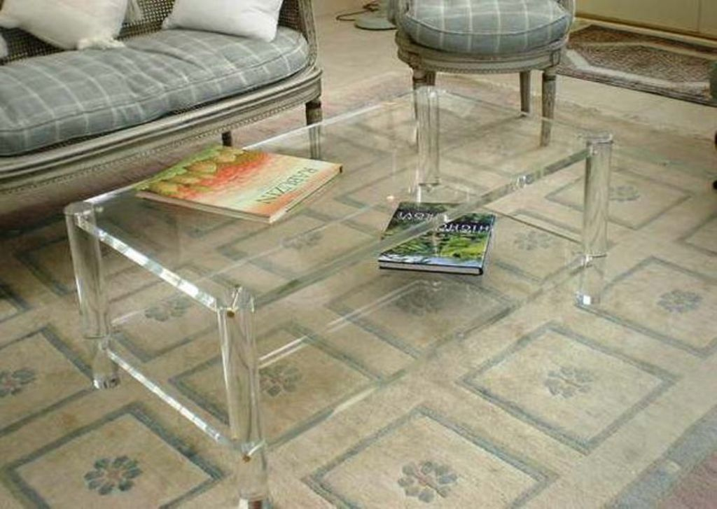 Acrylic Coffee Table Gallery Photos In