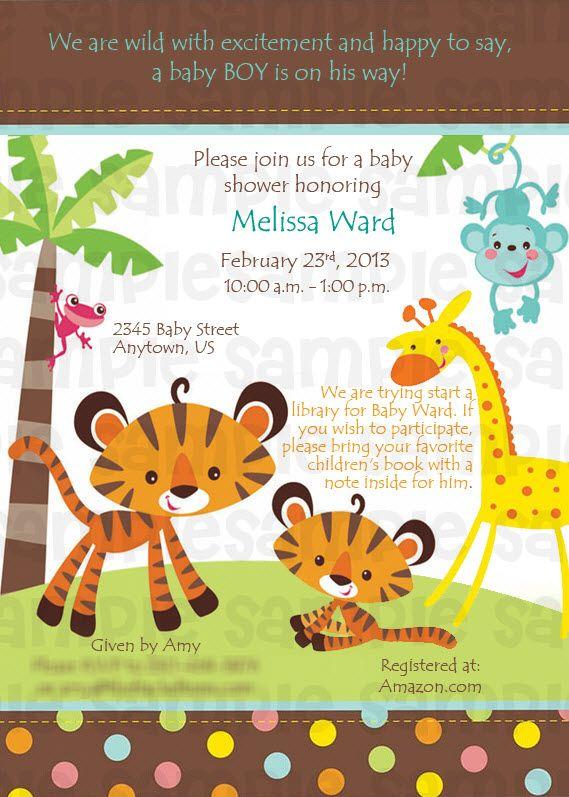 Fisher price rainforest safari baby shower digital invitation 11 fisher price rainforest safari baby shower digital invitation 11 filmwisefo