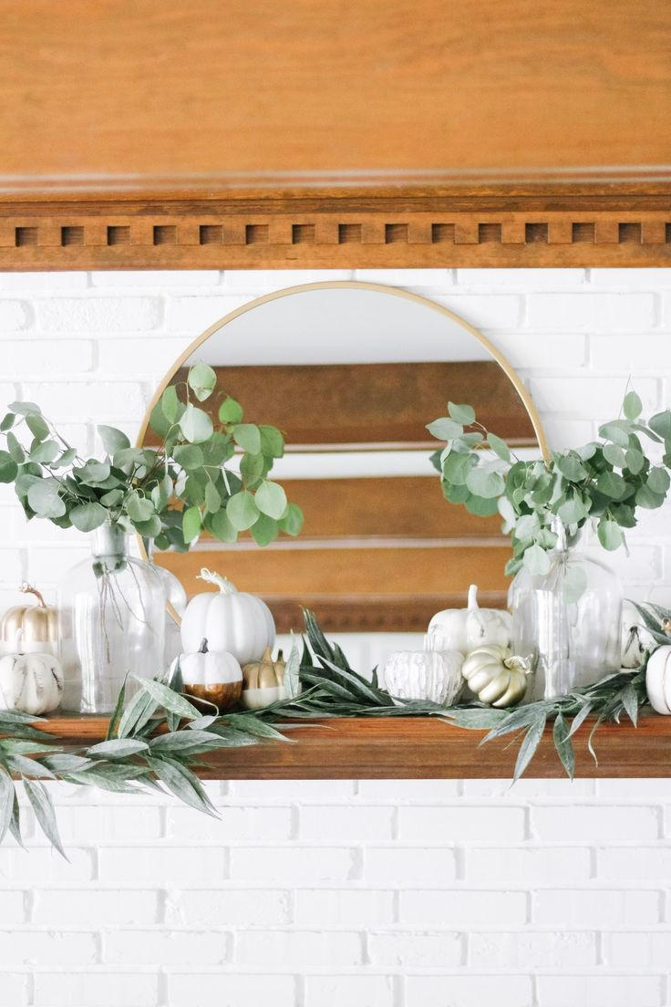 Photo of Modern Neutral Fall Mantle Decor – arinsolangeathome