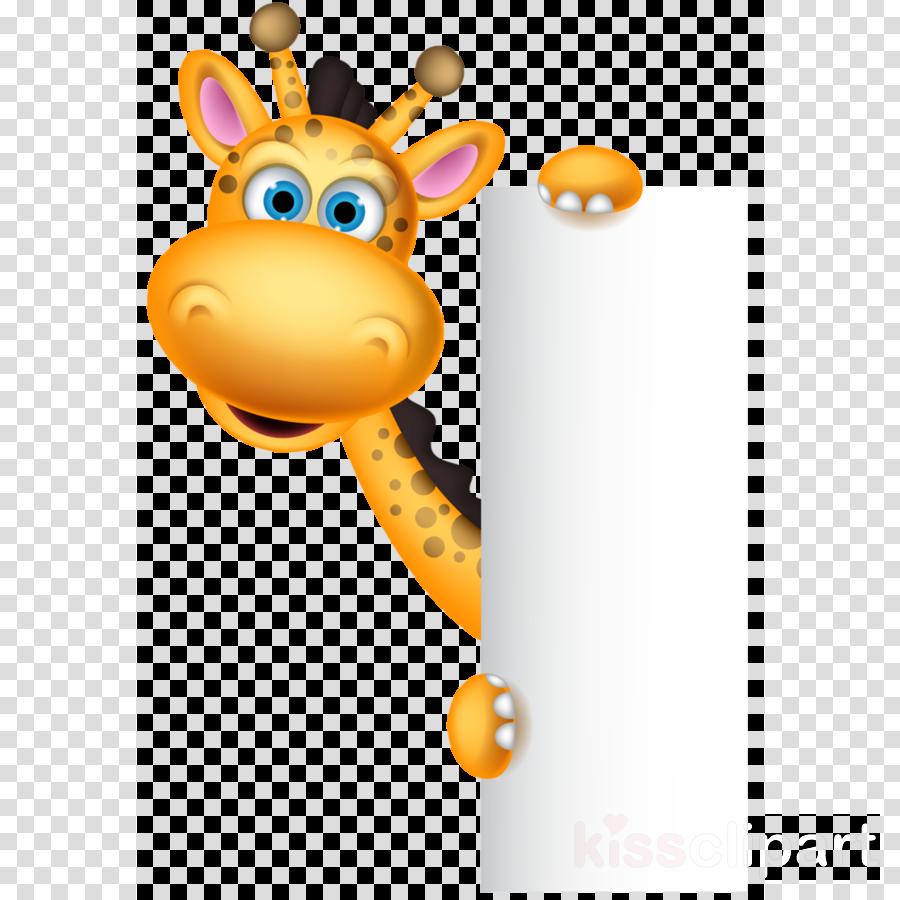 giraffe name tag clipart Giraffe Clip art clipart