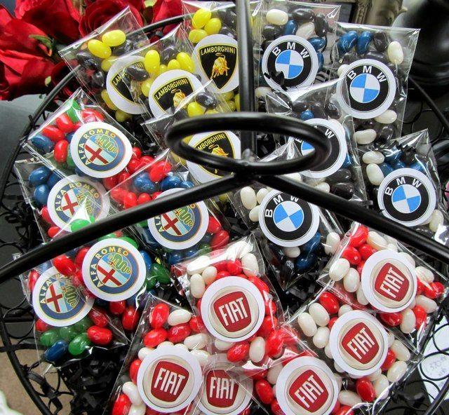 Car Themed Th Birthday Party Birthday Party Ideas Candy Favors - 40th birthday party favors ideas