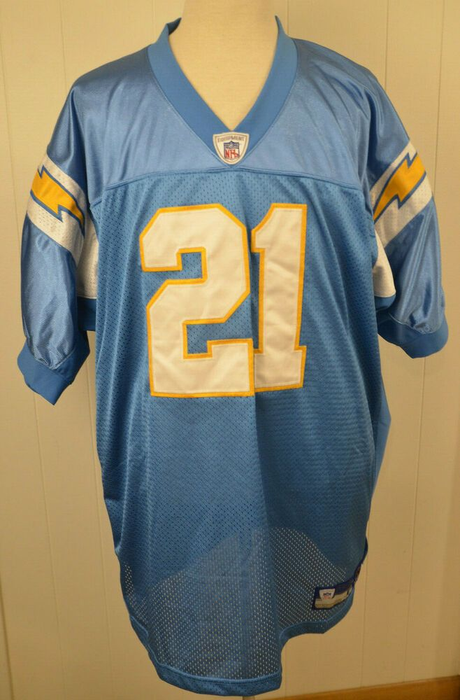 Reebok San Diego Chargers Jersey  21 LaDainian Tomlinson NFL Authentic Size  56  Reebok  SanDiegoChargers 8626d98fb