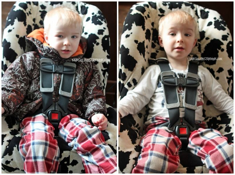 Winter car seat safety: Why you should NOT put winter jackets on ...