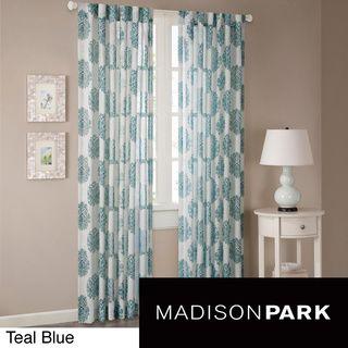 Madison Park Emerson Arabesque Curtain Panel