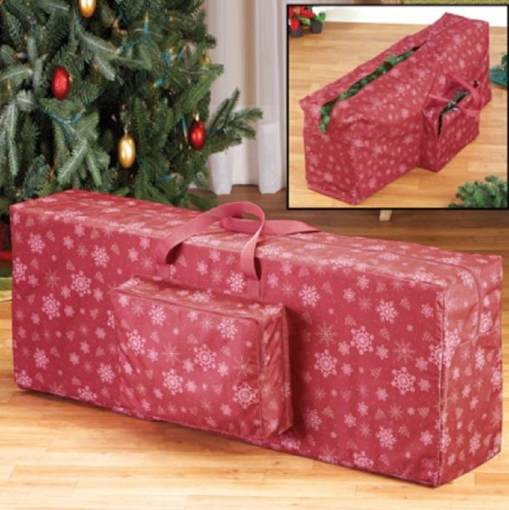 Artificial Tree Storage Bag 7 Ft Christmas Tree Container Lights Handles Closet Unbranded Christmas Tree Storage Christmas Tree Storage Bag Christmas Storage