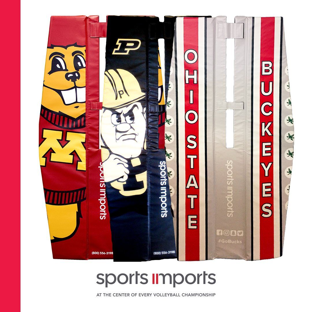 Customize Your Volleyball Net System To Show Off Your School Spirit Https Www Sportsimports Com Customization Volleyball Net Volleyball School Spirit