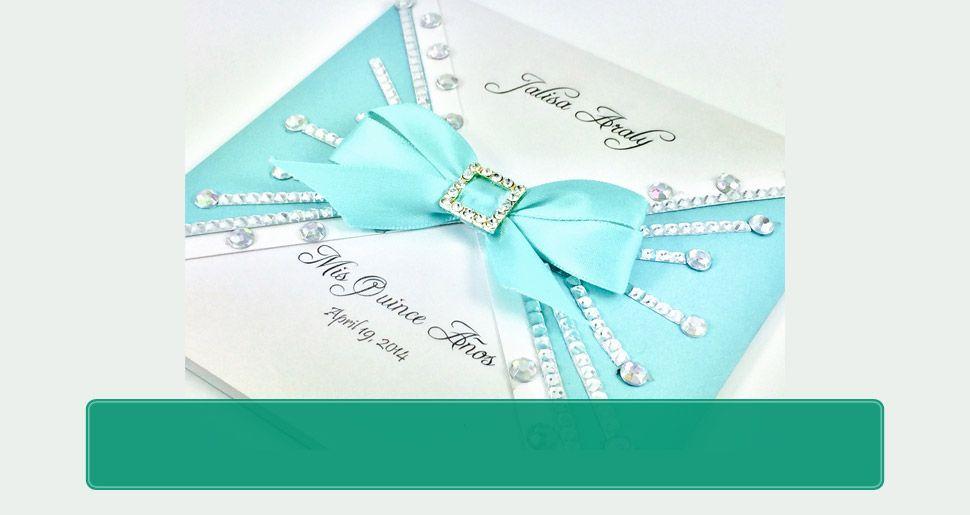 Customized Invitations - Dallas, TX - Dream On Glitter Invitations