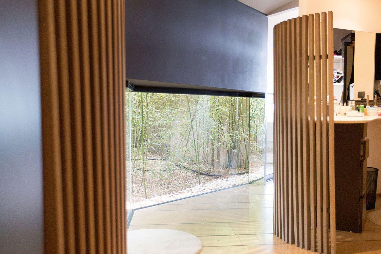 Cloison Amovible Pour Salle De Bain kitkurly claustra interieur salle de bain brise vue
