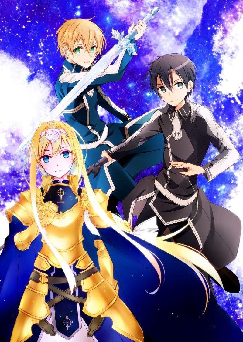 Ghim của kirigaya Kazuto trên Sword art online Anime