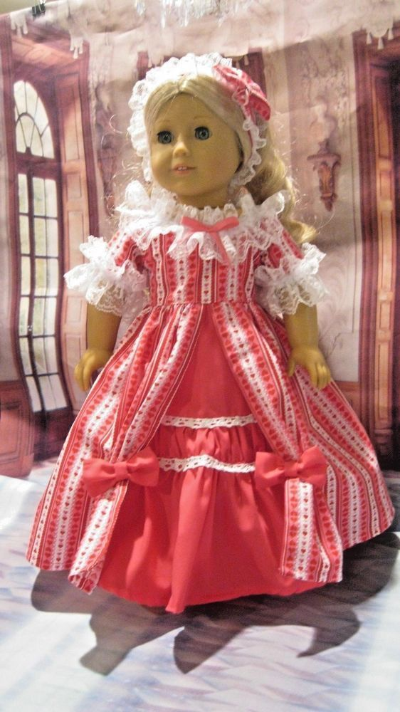 Vallentine Ball Gown Fits Caroline,Nanea, Kit,etc 18\