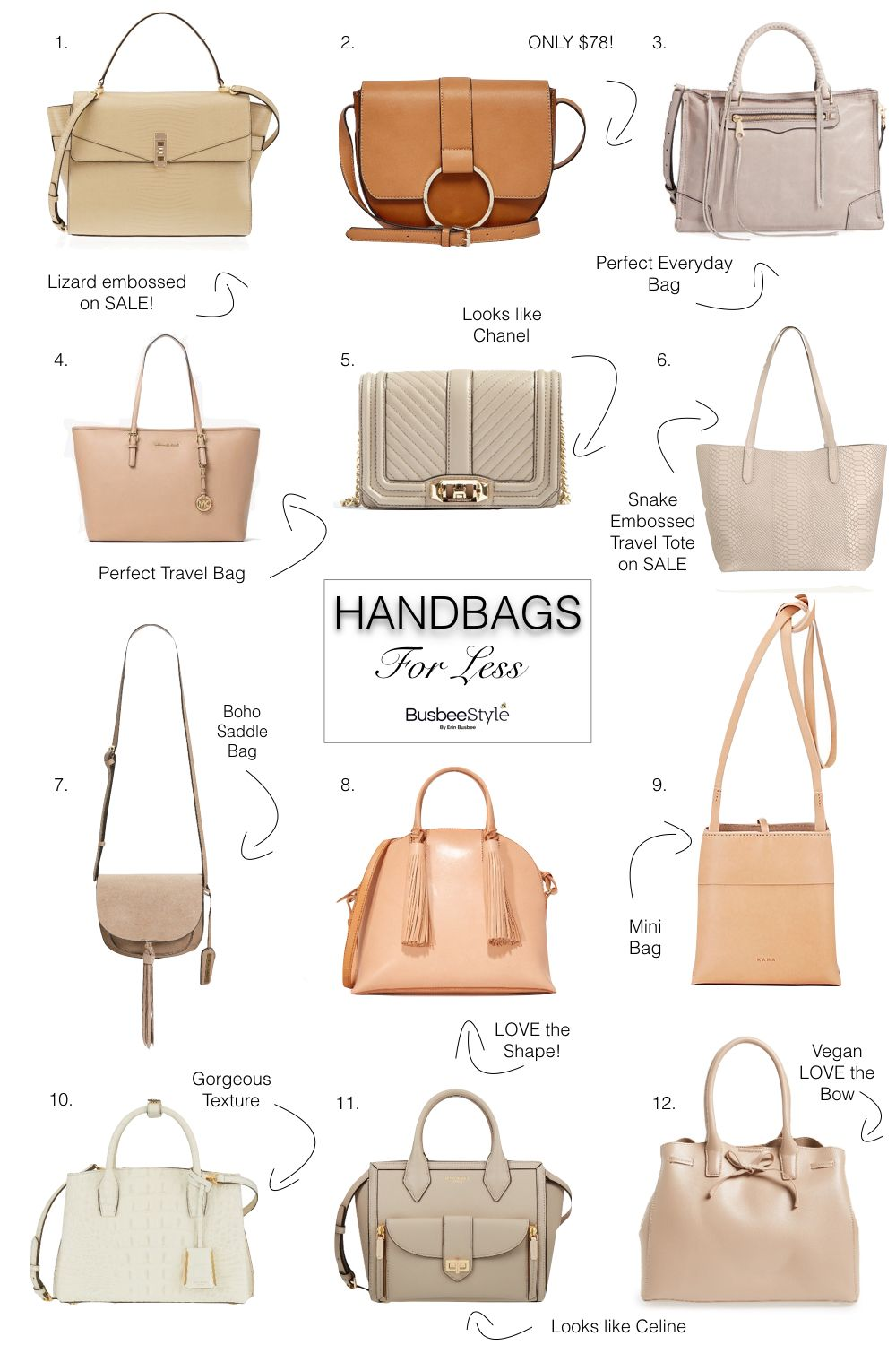 High End Handbags Similar Bags For Less