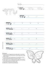 caligrafia - Pesquisa Google | Actividades de letras, Actividades letra m,  Trazos de letras