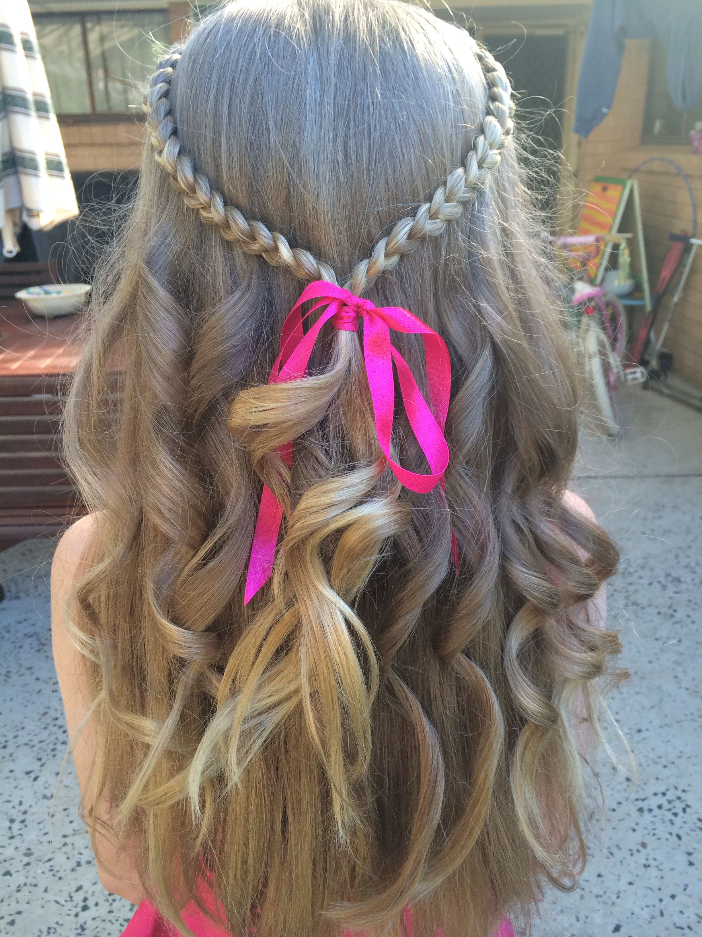 chloe's year 5 dance hair   hair in 2019   dance hairstyles