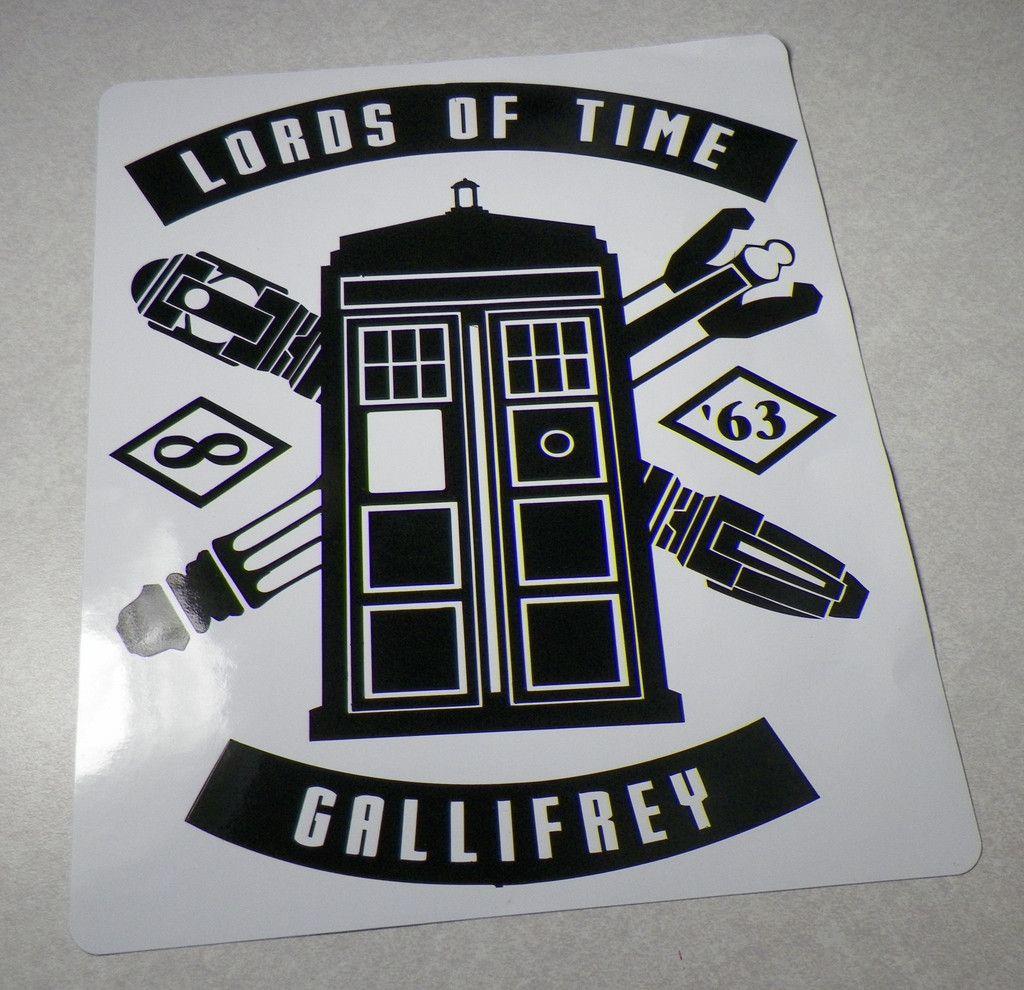 Doctor Who Stickers Doctor Who Sticker Shop Vinyl Sticker