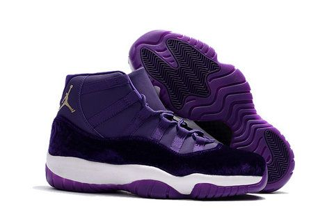 Air Jordan 11 Velvet Heiress Purple  3787e64d2