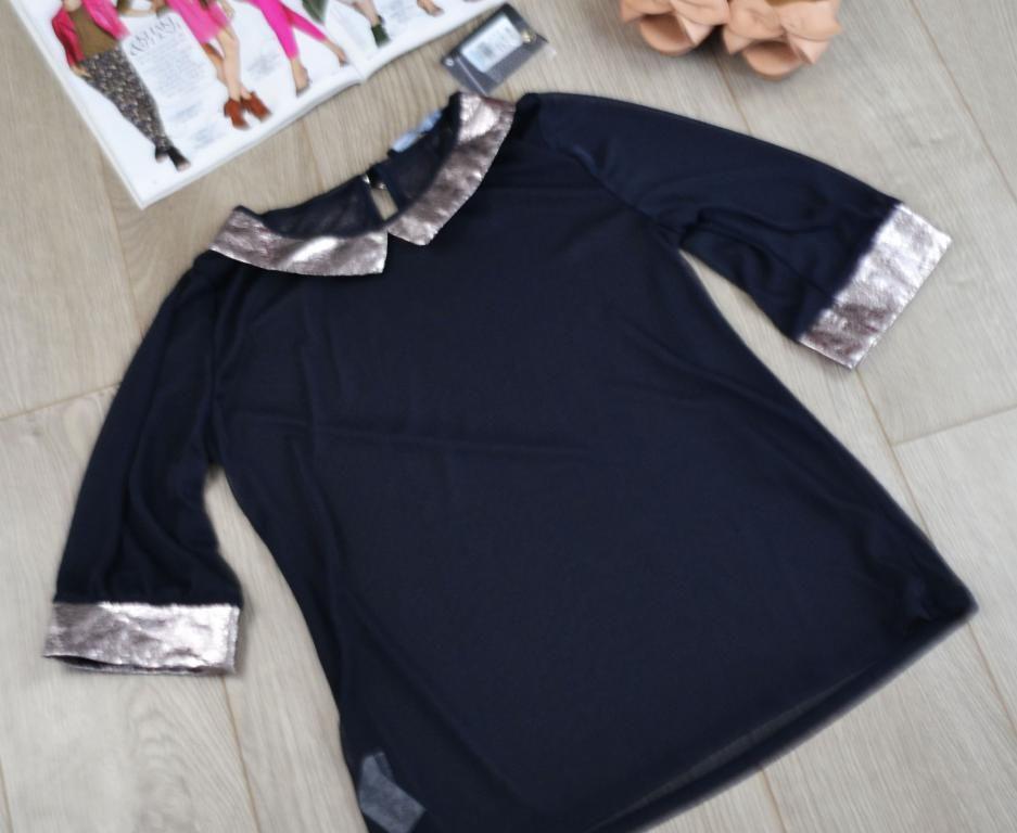 Nowa Bluzka Mgielka Z Kolnierzem Atmosphere R 38 4370982742 Oficjalne Archiwum Allegro Fashion Cold Shoulder Dress Dresses