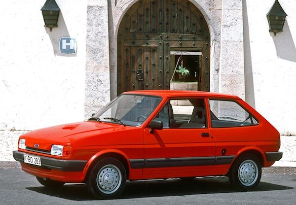 Best Selling Cars Matt S Blog 1988 January Ford Fiesta