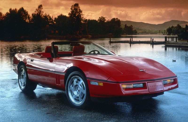 1990 Corvette Corvette Corvette C4 Chevrolet Corvette