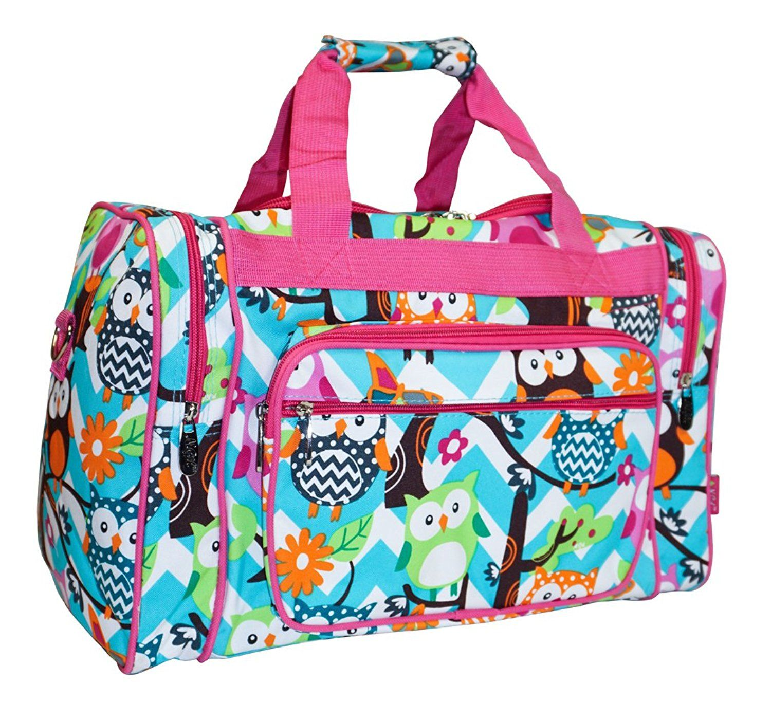 4f8cacfbf2eb N Gil Designer Print Collection Duffle Bag 16-Inch -- Quickly view ...