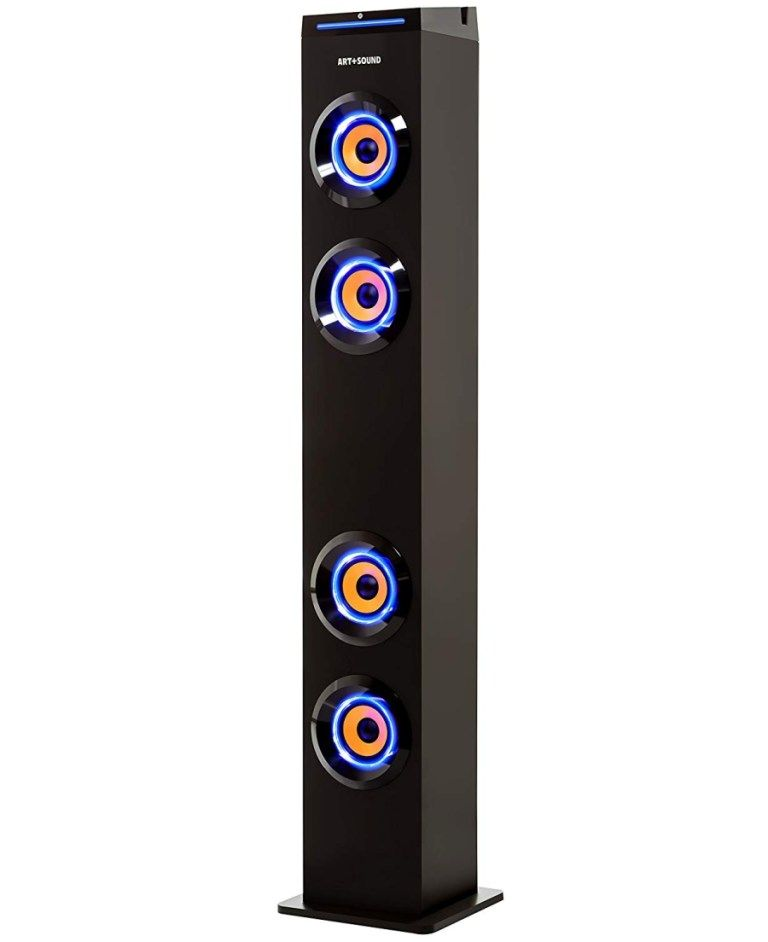 Artsound Ar1004 Wall Powered Bluetooth Speakers Tower 8 Best