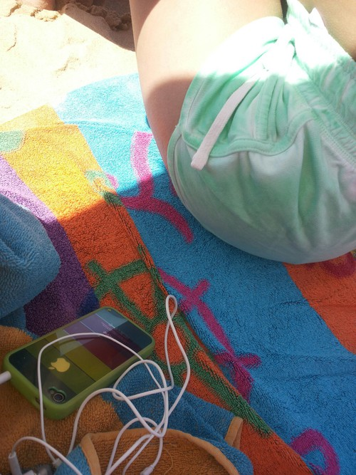 Beach  @ Check my exclusive Nail Set http://bit.ly/Vnails ☂. ☂  ☂. ☺