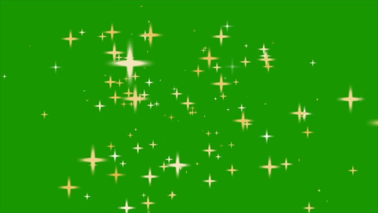 Stars Popping Up In Space Free Green Screen Effect Green Screen Backgrounds Free Green Screen Backgrounds Green Screen Footage