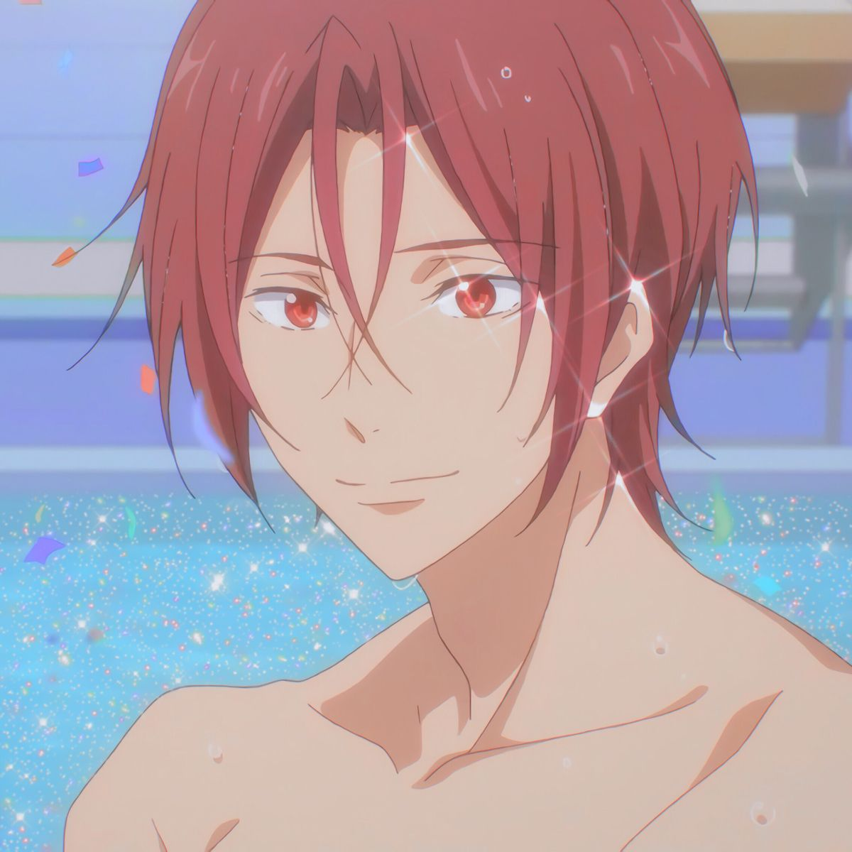 "Н""£ð""¢ð""¦ Aesthetic Anime Anime Anime Icons See more fan art related to #haruka nanase , #free! 𝔣𝔢𝔦 aesthetic anime anime anime icons"