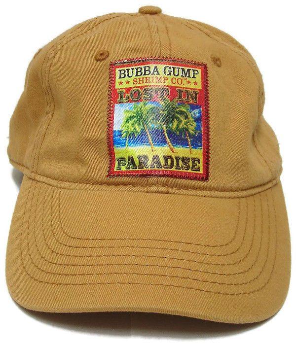 NEW Bubba Gump Shrimp CO Hat Forrest Gump Mall of America Snapback Slouch  Cap… 2f5469d4bb4