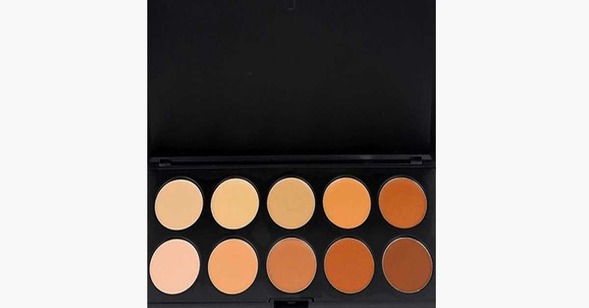 Photo of 10 Color Concealer Palette – Magically Conceals all Your Blemishes and Dark Circles to Give You That Flawless Look! hot fashion