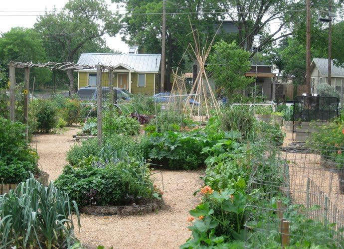 I love the eastside cafe in austin it 39 s an urban oasis nature fresh color inspiration for Eastside urban farm and garden