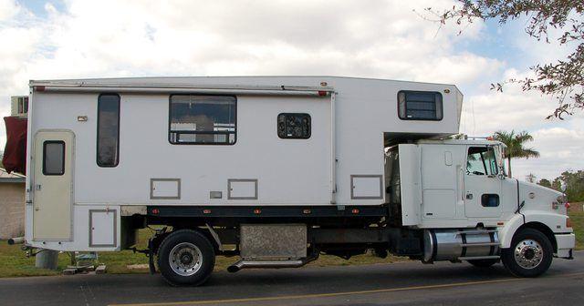 That S One Big Truck Camper Truckcamper Amazing Rv S