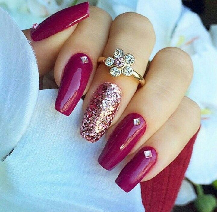 Perfect for the #fall | Nails | Pinterest | Estetica, Maquillaje y ...