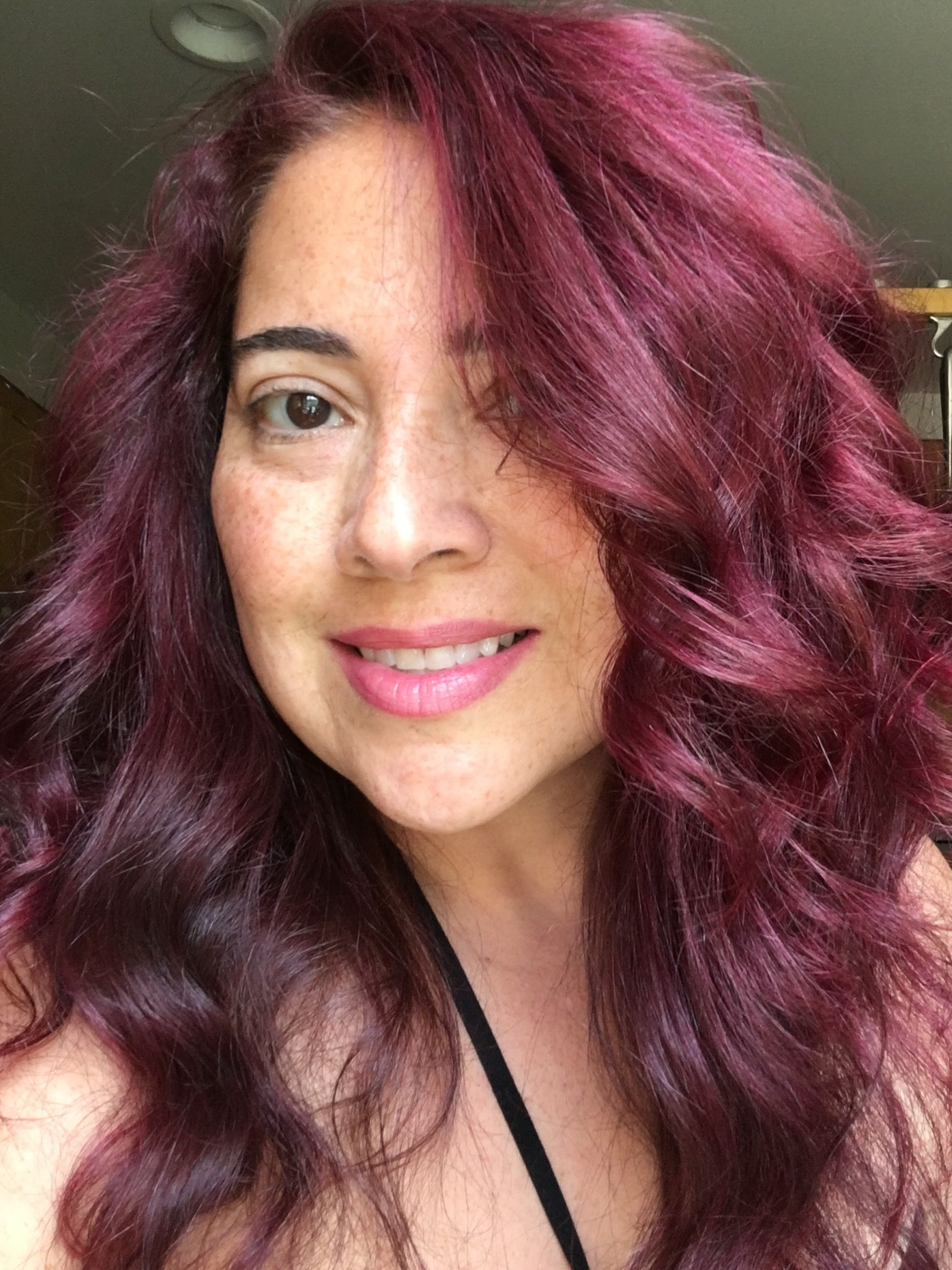 Flamingo Pink Jerome Russell Punky Color Over Hair Dyed Light Brown Summer 2016 Flamingo Pink Hair Punky Color Dyed Hair
