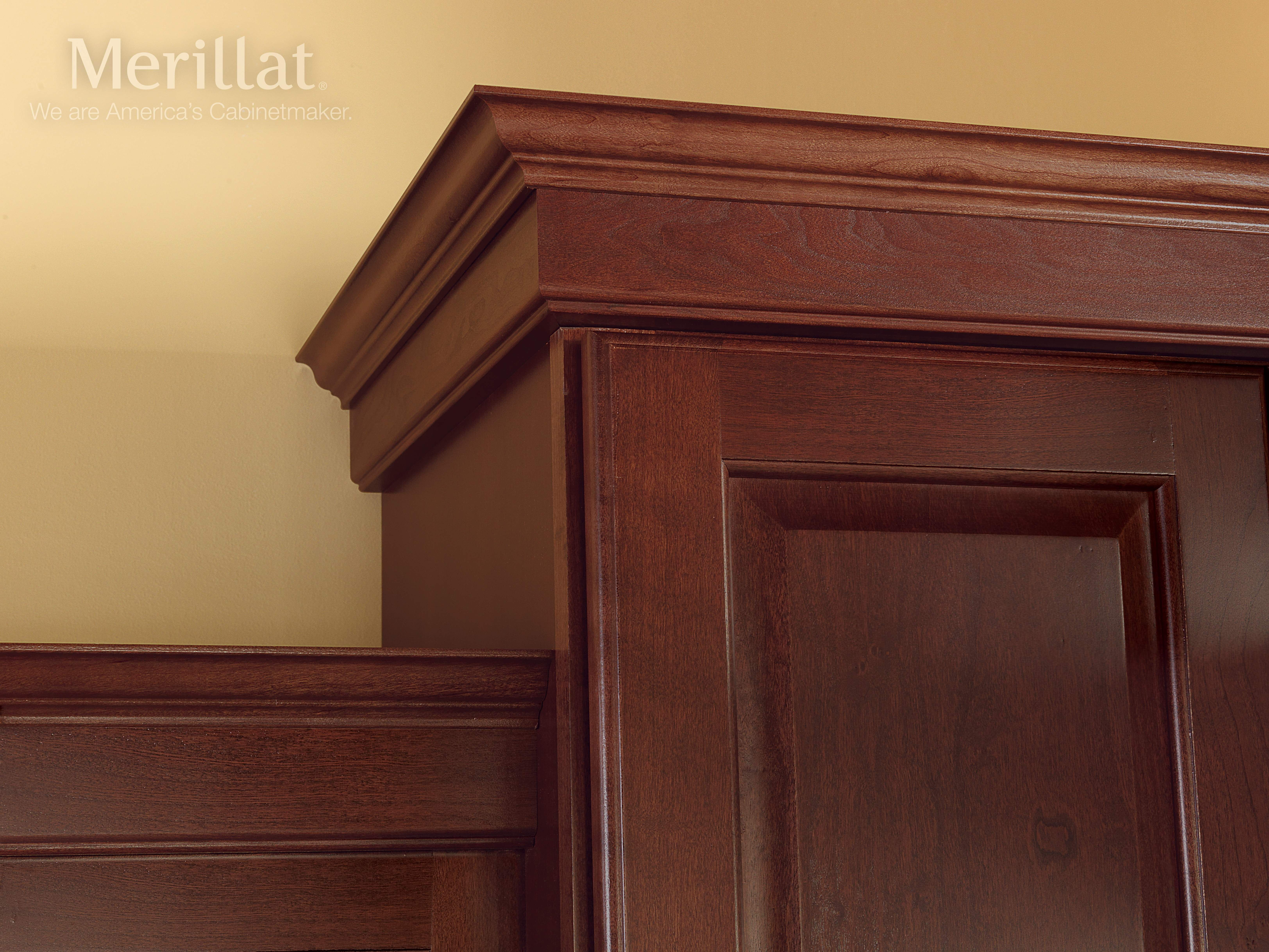 Merillat Classic Fox Harbor Cherry Pecan Merillat cabinetry