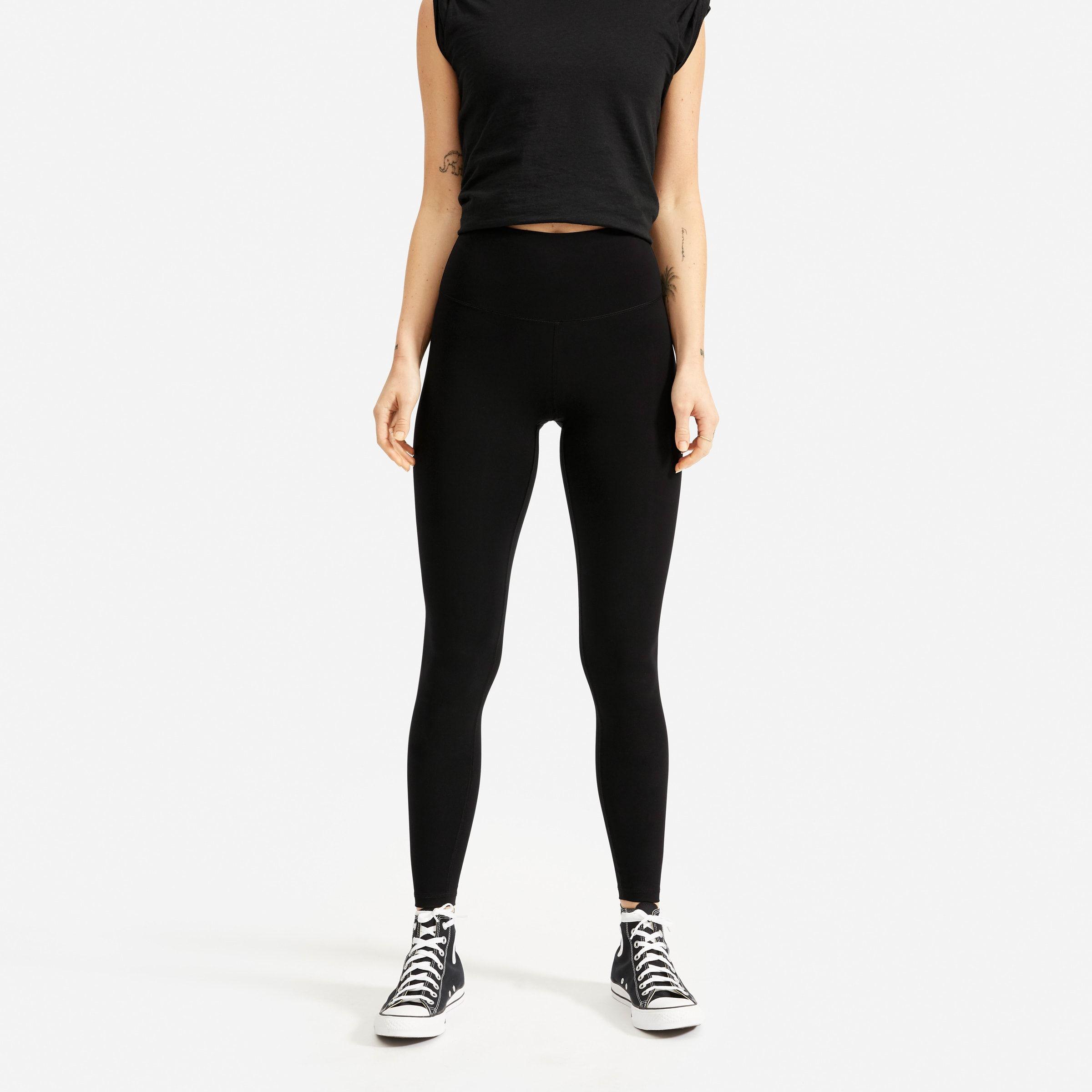 Wardrobe Staples On Sale Girl Meets Gold Black Leggings Performance Leggings Legging [ 2400 x 2400 Pixel ]